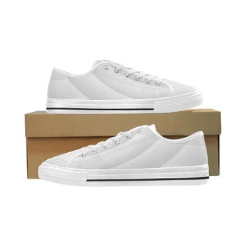 Men's White Wave Seattle Oxford Cloth Shoes