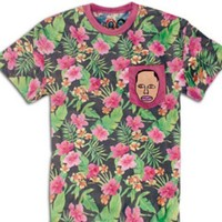 Odd Future OFWGKTA Earl Sweatshirt Floral Shirt with Pocket Authentic