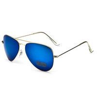 Aviator Design Alloy Frame Sunglasses