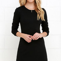 Perfectly Posh Black Long Sleeve Dress