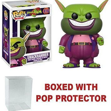 Funko Pop Movies Space Jam Swackhammer 416 12431 W/Protect Case