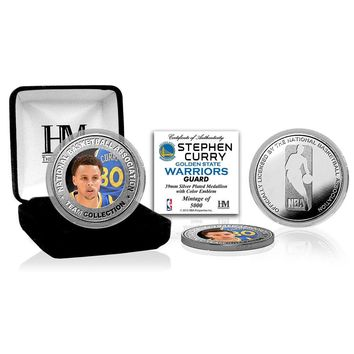 Stephen Curry Silver Color Coin
