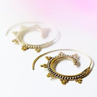 Tribalik Womens Tribal Swirl Earring
