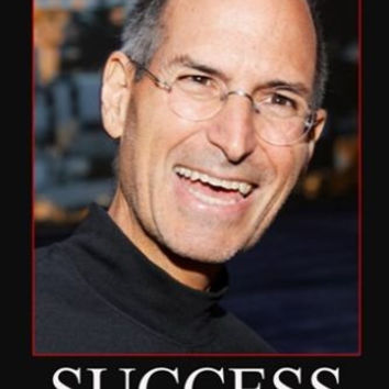 STEVE JOBS MOTIVATIONAL POSTER 24X36 success & perseverance quote NEW!