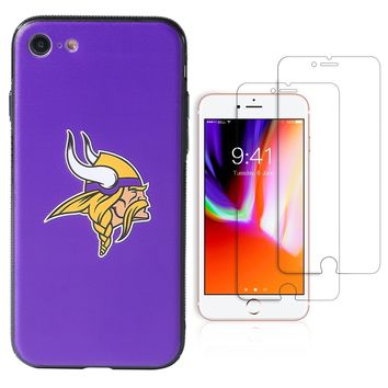 "Minnesota Vikings Premium iPhone 7 / iPhone 8 (4.7"") Phone Case Set"