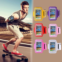 Waterproof  Workout Cover Gym Case for Samsung Galaxy Note 1 2 3 4 i9220 N7100 N9000 N910 Running Sport Arm Band