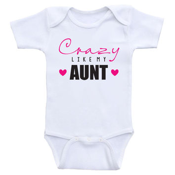 My aunt ant loves me funny BABYGROW BABY GROW ALL SIZES Unisex  NEW