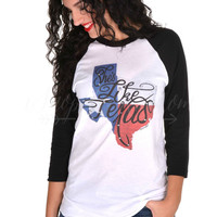 She's Like Texas Raglan