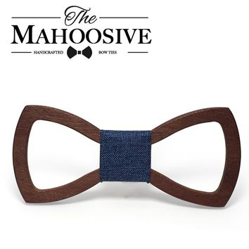 Classy Wooden Bowtie with Various Colours