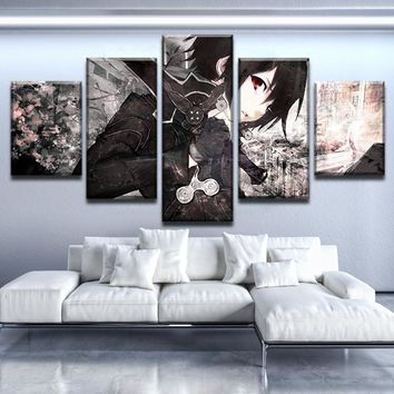 Sword Art Online Dark Blade Canvas Set