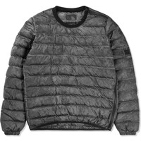 Charcoal Down Crew Pullover