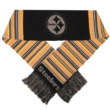 Pittsburgh Steelers Forever Collectibles Metallic Ladies Scarf