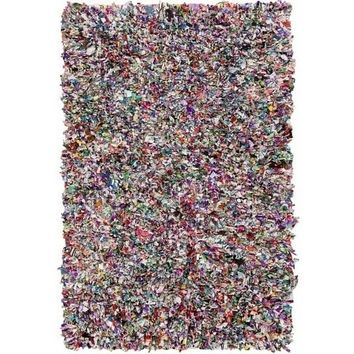 Jersey Recycled Multicolor Shag Rugs
