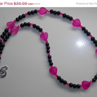 33%OFF Pink Heart Necklace