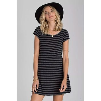 Billabong - Moon Shadow Dress | Black Stripe