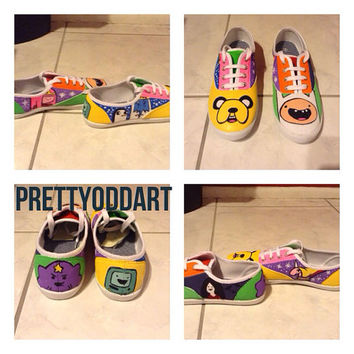Custom Shoes Adventure Time