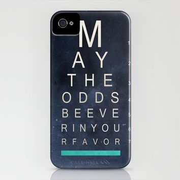 May The Odds Be Ever In Your Favor (Negative) iPhone Case by Ryan James Caruthers   Society6