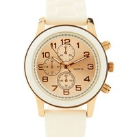 Metallic Accent Watch