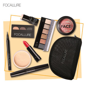 Stylish Professional Beauty Make-up Cosmetic 8Pcs/Set Hot Sale Make-up Palette [9036706884]
