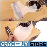 Transparent Acoustic Guitar Pickguard Droplets Or Bird Self-adhesive 41' Pick Guard PVC Protects Your Classical Guitar Surface 7