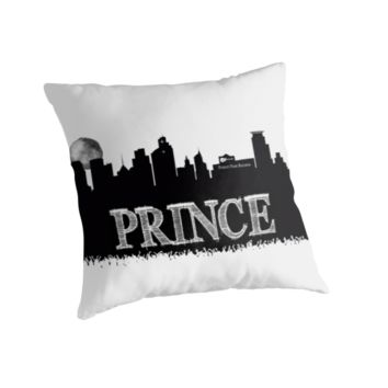 Prince Rogers Nelson - Minneapolis black and white by JBJart