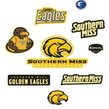 University of Southern Mississippi Logo Junior Fatheads