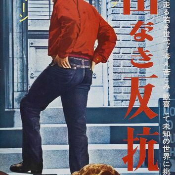 Rebel Without a Cause (Japanese) 14x36 Movie Poster (1955)