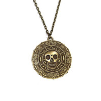 Pirates of the Caribbean Aztec Necklace
