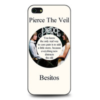 Pierce The Veil Song Lyrics Band iPhone 5 | 5S case