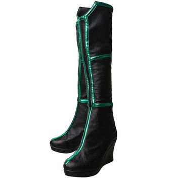 Thor 3 Ragnarok Trailer Hela Cosplay Shoes High Boots Halloween Carnival Cosplay Costume Accessories For Women
