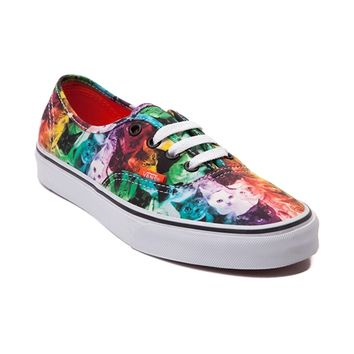 Vans x ASPCA Authentic Rainbow Kitty Skate Shoe