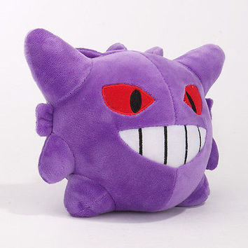 6inch Pokemon Pokedoll Gengar Figure Plush Doll Toy Stuffed Animal Brand New
