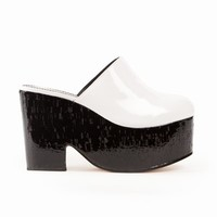 CHLOE SEVIGNY FOR OPENING CEREMONY CHLOE PLATFORM MULES - WOMEN - JUST IN - CHLOE SEVIGNY FOR OPENING CEREMONY