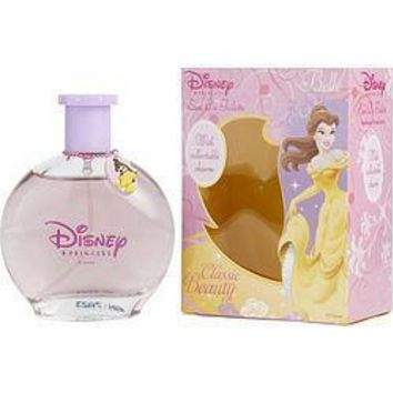 Beauty & The Beast by Disney Princess Belle EDT Spray 3.4 oz With Charm