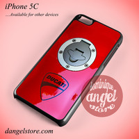 Ducati In Red Phone case for iPhone 5C and another iPhone devices
