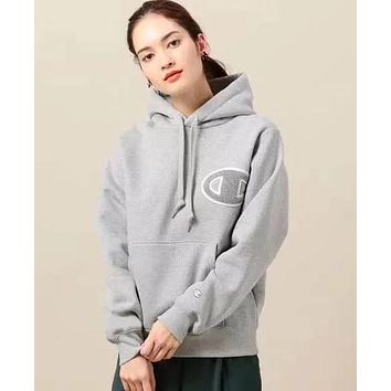 Champion Women Fashion Hoodie Top Sweater Pullover