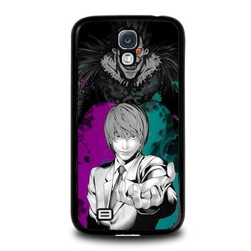light and ryuk death note samsung galaxy s4 case cover  number 2