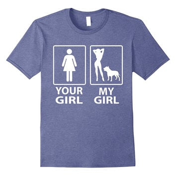 Your Wife My Wife Pitbull Shirt | Gift For Pit Bull Lover