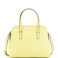Kate Spade New York Cedar Street Maise Satchel Bag, Lemonade LAVELIQ