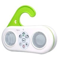 Hipe Waterproof Bluetooth Shower Speaker & Handsfree speakerphone - White