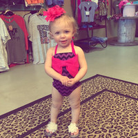 Infant & Toddler Chevron Swimsuit