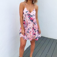 Spring Forward Dress: Pink/Multi