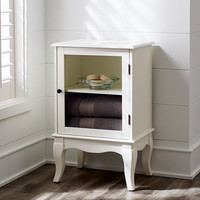 Toscana Low Snow White Cabinet