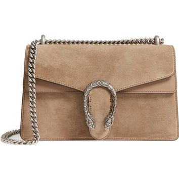 Gucci Small Dionysus Suede Shoulder Bag | Nordstrom