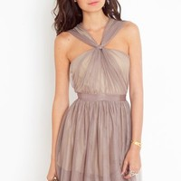 Fancy Knot Dress in  What's New at Nasty Gal