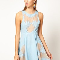 Alice McCall Western Insert Ice Skating Dress at asos.com