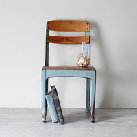 childs school chair by AMradio on Etsy