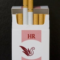 "Honeyrose ""S"" Strawberry Flavor Tobacco Free Nicotine Free Herbal Cigarettes"