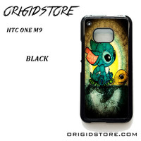 Stitch A Lone On Turtle For HTC One M9 Case Please Make Sure Your Device With Message Case UY