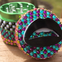 Grinder -- MINIS -- Gingham Style with a Kiss
